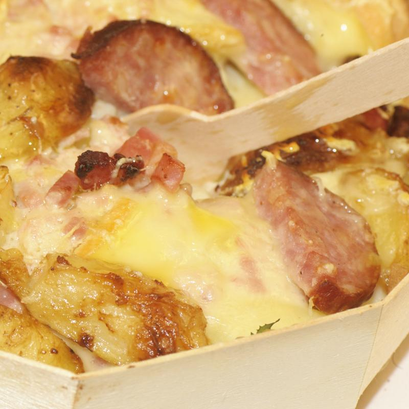 Cheese producers and retailers panibois baking in - Tartiflette cuisine az ...