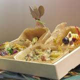 Take-away meal tray