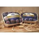 The blueberry truffles