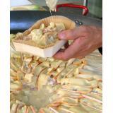 Tartiflette baked in a gratin dish